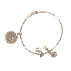"ALEX AND ANI ""G"" initial necklace authentic"
